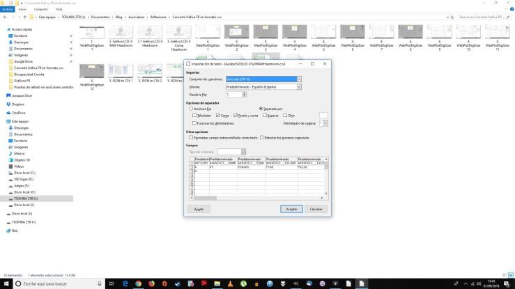 6. csv en LibreOffice calc 1
